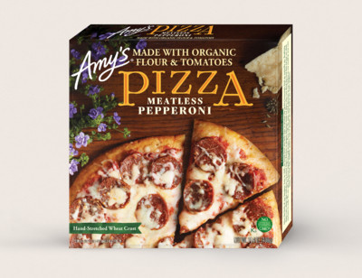 Meatless Pepperoni Pizza hover image
