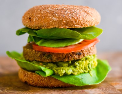 Guacamole California Veggie Burger