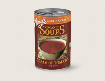 Organic Cream of Tomato Soup, Light in Sodium hover image