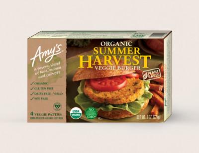 Organic Summer Harvest Veggie Burger