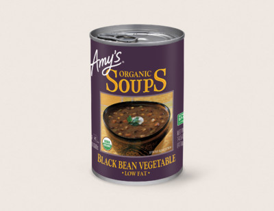 Organic Black Bean Vegetable Soup hover image