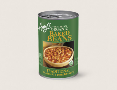 Organic Vegetarian Baked Beans hover image