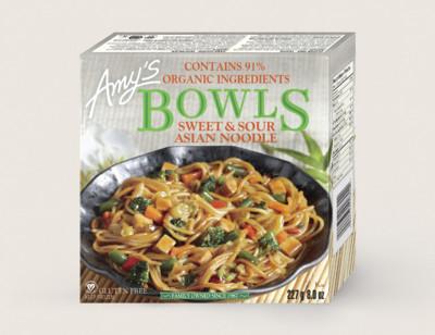 Sweet & Sour Asian Noodle/Nouilles Asiatiques À La Sauce Aigre-Douce Bol