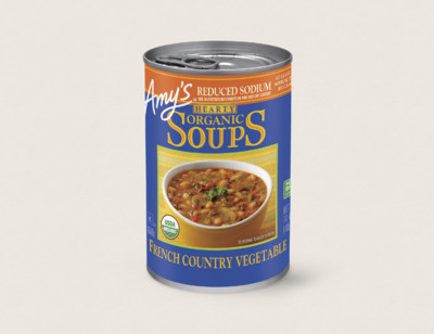 Organic Hearty French Country Vegetable Soup, Reduced Sodium hover image