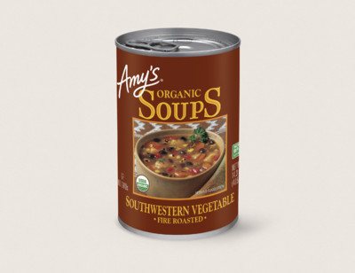 Organic Fire Roasted Southwestern Vegetable Soup