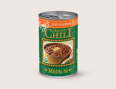 Organic Medium Chili, Light in Sodium hover image