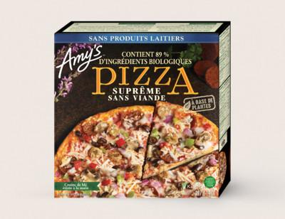 Meatless Supreme Pizza/Suprême Sans Viande hover image