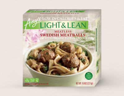 Meatless Swedish Meatballs - Light & Lean hover image