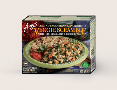Veggie Scramble with Tofu/Brouillade De Légumes hover image