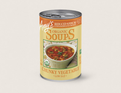 Organic Chunky Vegetable Soup, Reduced Sodium hover image