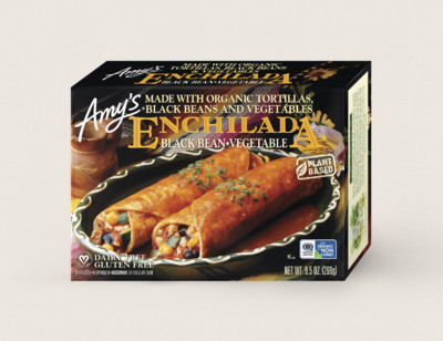 Black Bean Vegetable Enchilada hover image