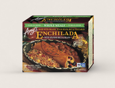 Enchilada with Spanish Rice & Beans Meal hover image