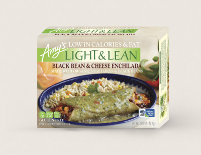 Black Bean & Cheese Enchilada - Light & Lean