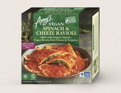 Vegan Spinach & Cheeze Ravioli