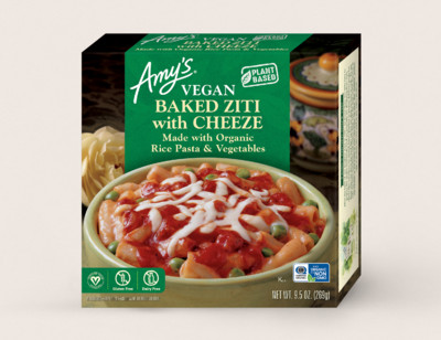 Vegan Baked Ziti with Cheeze