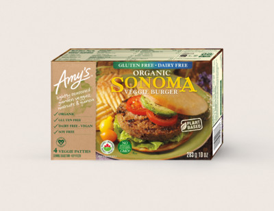 Organic Sonoma Veggie Burger/Végéburger Sonoma Biologique