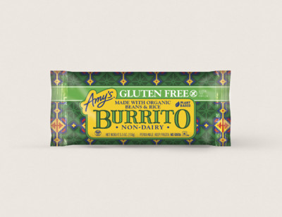 Bean & Rice Burrito, Gluten Free, Non-Dairy hover image