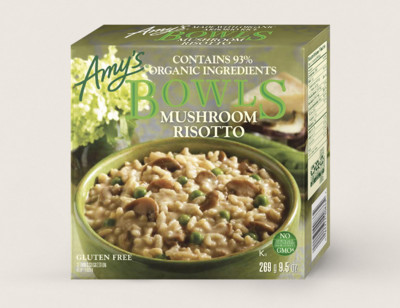 Mushroom Risotto Bowl/Risotto Aux Champignons Bol