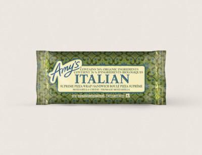 Italian Supreme Pizza Wrap/Sandwich roulé pizza suprême hover image