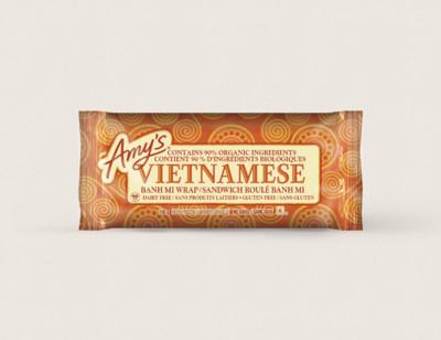 Vietnamese Banh Mi Wrap/Sandwich roulé banh mi hover image