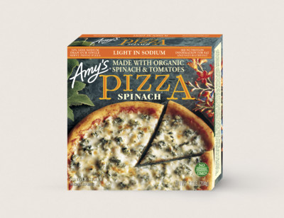 Spinach Pizza, Light in Sodium, Single Serve hover image
