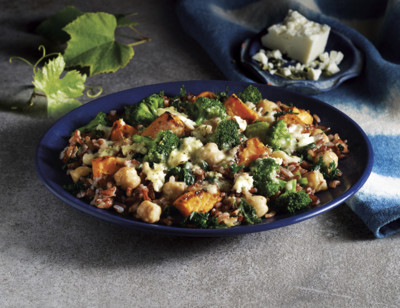 Greek Inspired Red Rice & Veggies standard image