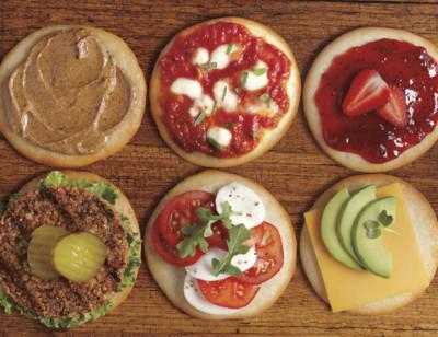 Organic Sandwich Rounds, Gluten Free, Dairy Free standard image