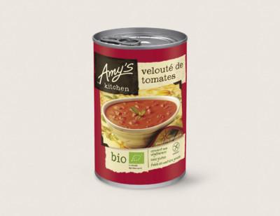 Soupe velouté de tomates bio hover image