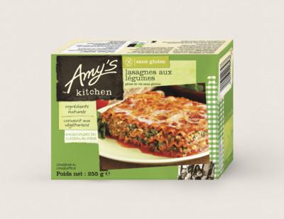 Lasagnes aux légumes, sans gluten hover image