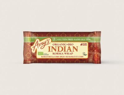 Wrap korma à l'indienne bio sans gluten