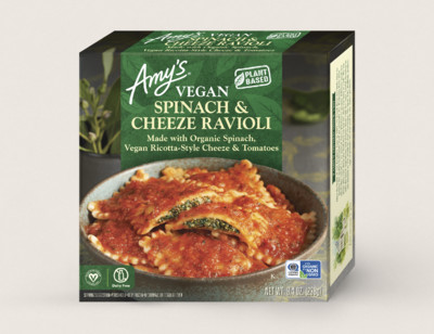 Vegan Spinach & Cheeze Ravioli hover image