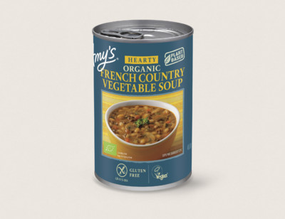 Organic Hearty French Country Vegetable Soup hover image