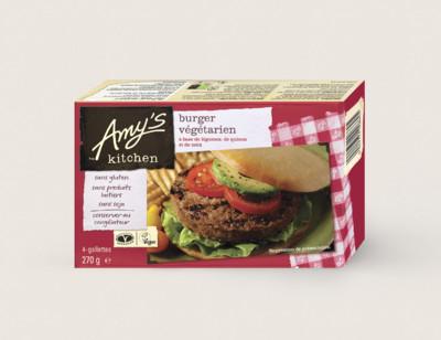 Burger végétarien sans gluten hover image