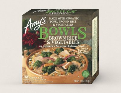 Brown Rice & Vegetables Bowl hover image
