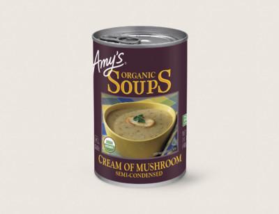 Organic Cream of Mushroom Soup hover image