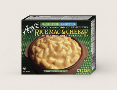 Dairy Free Rice Mac & Cheeze/Pâtes De Riz Avec Sauce À Saveur de Cheddar hover image
