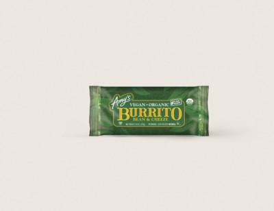 Organic Vegan Bean & Cheeze Burrito