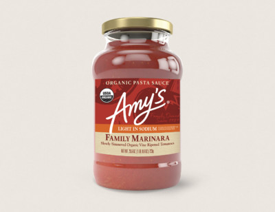 Organic Family Marinara Pasta Sauce. Light in Sodium hover image