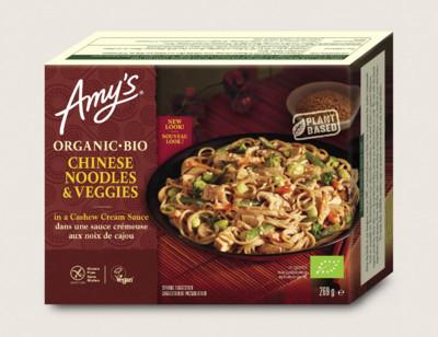 Nouilles chinoises et légumes bio, sans gluten hover image