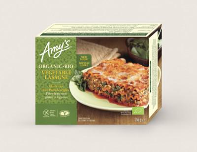 Lasagnes aux légumes bio, sans gluten hover image