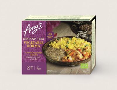 Korma de légumes bio hover image