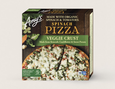 Spinach Veggie Crust Pizza hover image