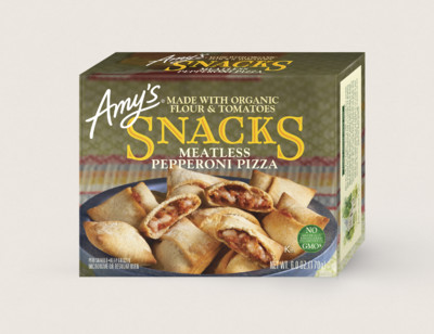 Meatless Pepperoni Pizza Snacks hover image