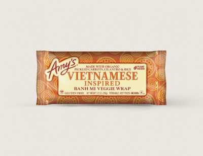 Vietnamese Inspired Banh Mi Wrap
