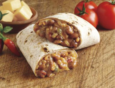 Organic Vegan Bean & Cheeze Burrito standard image