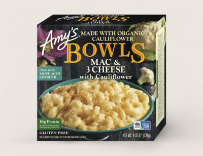 Mac & 3 Cheese with Cauliflower Bowl hover image