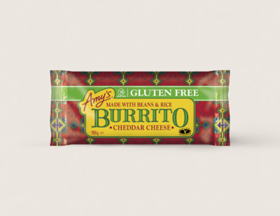Cheddar Cheese, Bean & Rice Burrito, Gluten Free hover image