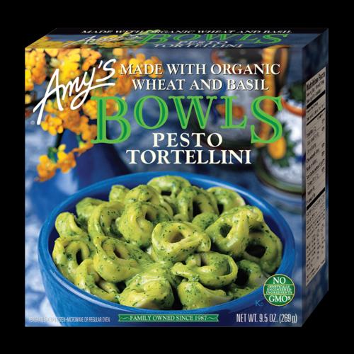 Amy's Pesto Tortellini Bowl