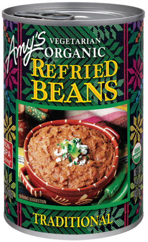Amy's Vegetarian Traditional Refried Beans