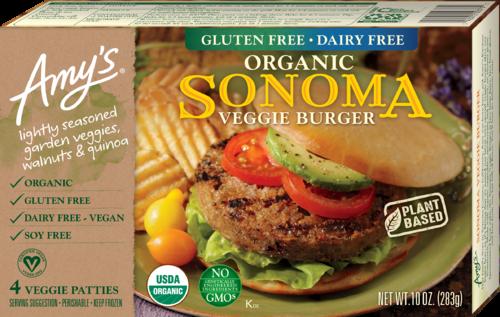 Amy's Veggie Burgers